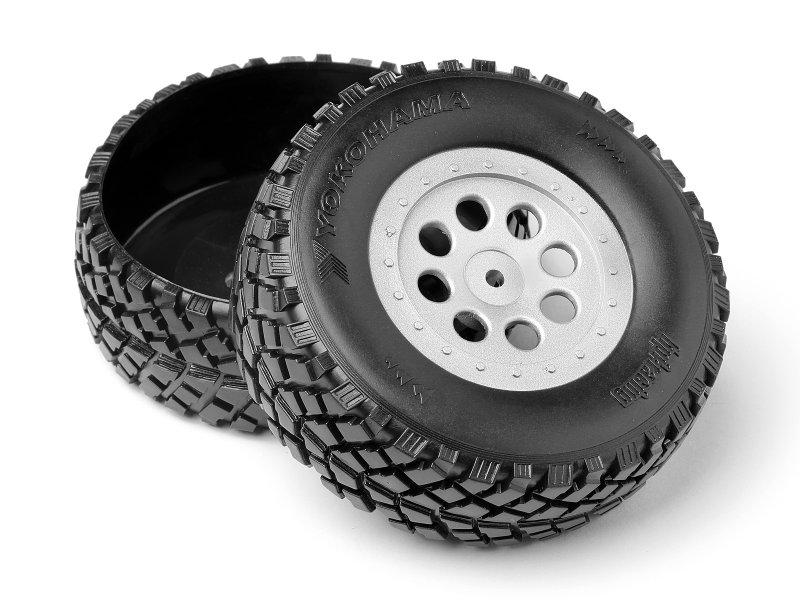 HPI 103773 - Plastic Truck Bed Tires (Mini-Trophy)