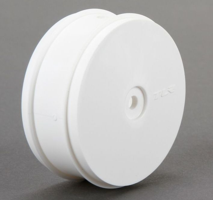 TLR43013 - 61mm Front Wheel, 12mm Hex, White (22-4)