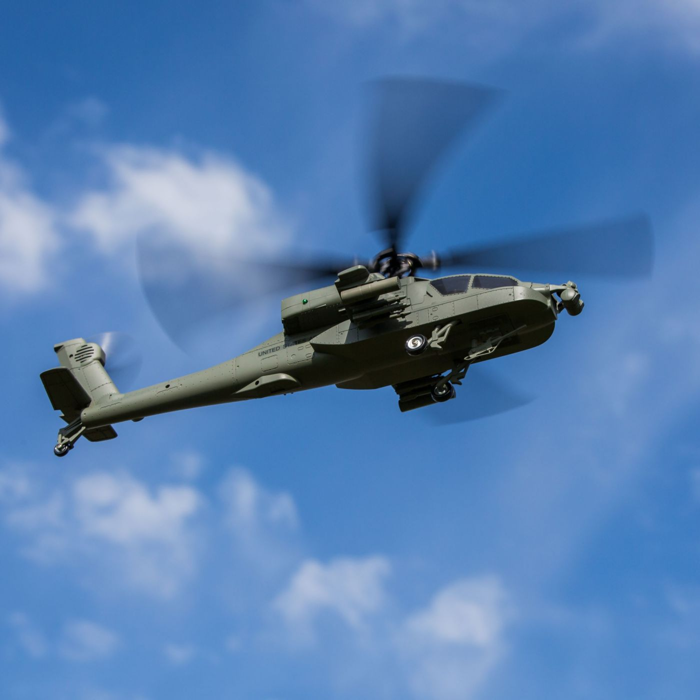 Blade BLH2500 - Micro AH-64 Apache RTF