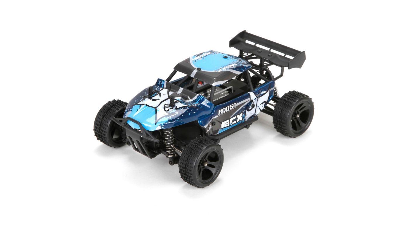 ECX ECX00015T1 - 1/24 Roost 4WD Desert Buggy RTR, Blue/Grey