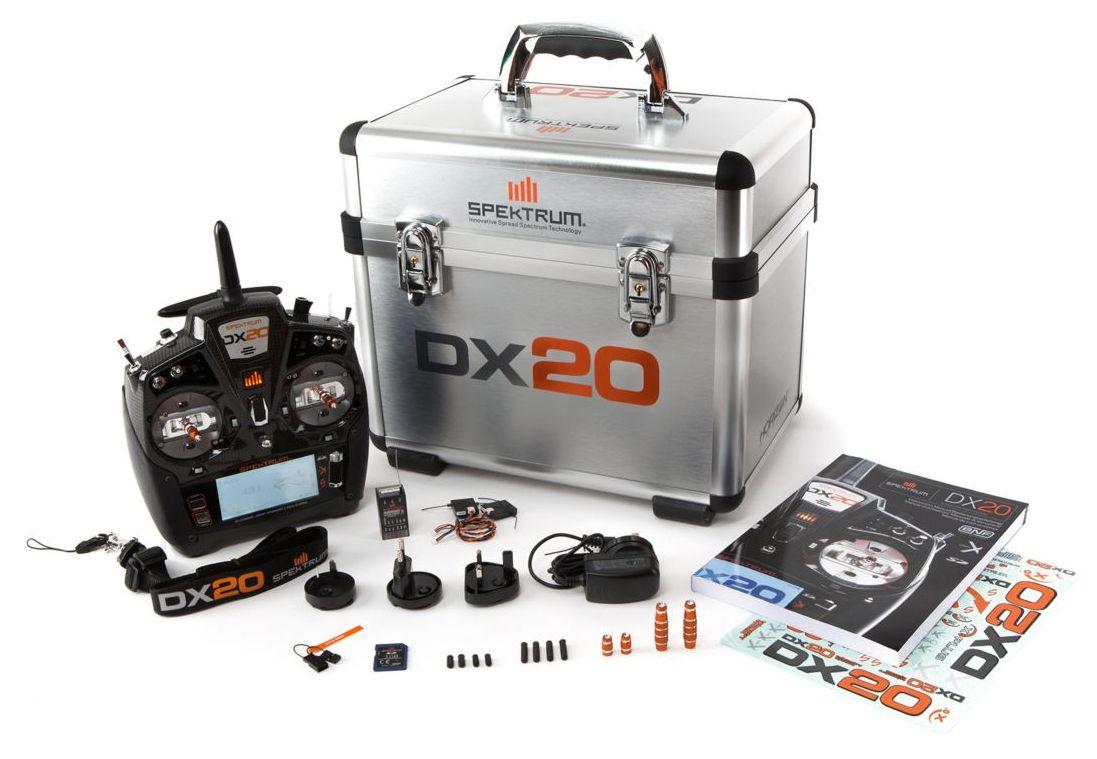 Spektrum SPM20000 - DX20 20-Channel DSMX Transmitter with AR9020, Mode 2