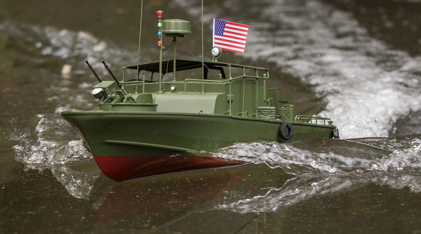 Proboat PRB08027 - 21-inch Alpha Patrol Boat