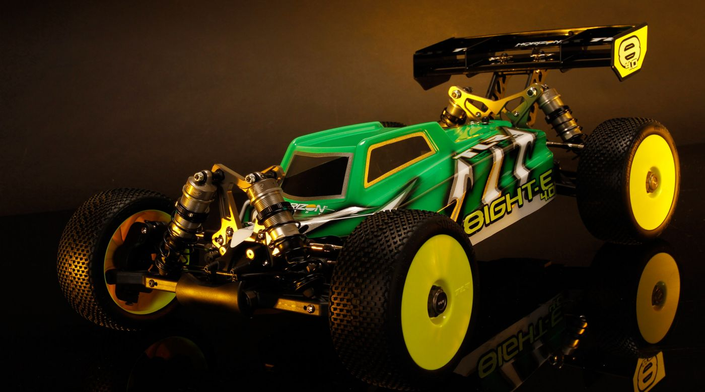 TLR 04004 - 1/8 8IGHT-E™ 4.0 4WD Electric Buggy Kit