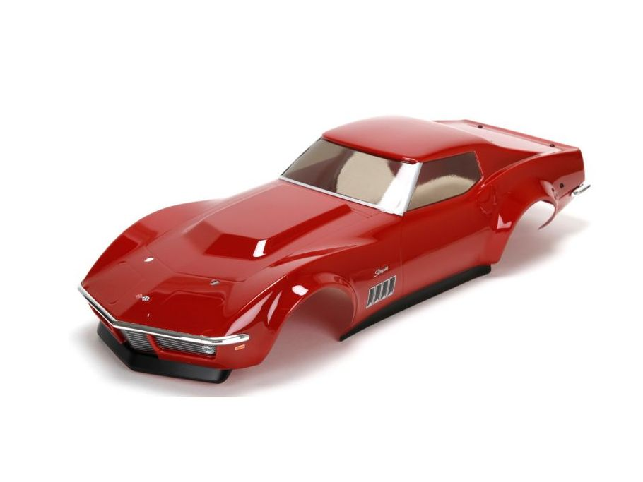 Vaterra VTR230030 - Body Set, Painted: 1969 Chevrolet Corvette