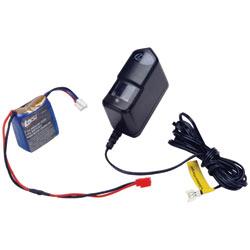 Losi LOSB9631 - 7.4V 600mAh 2S2P LiPo/Charger Combo: MRC