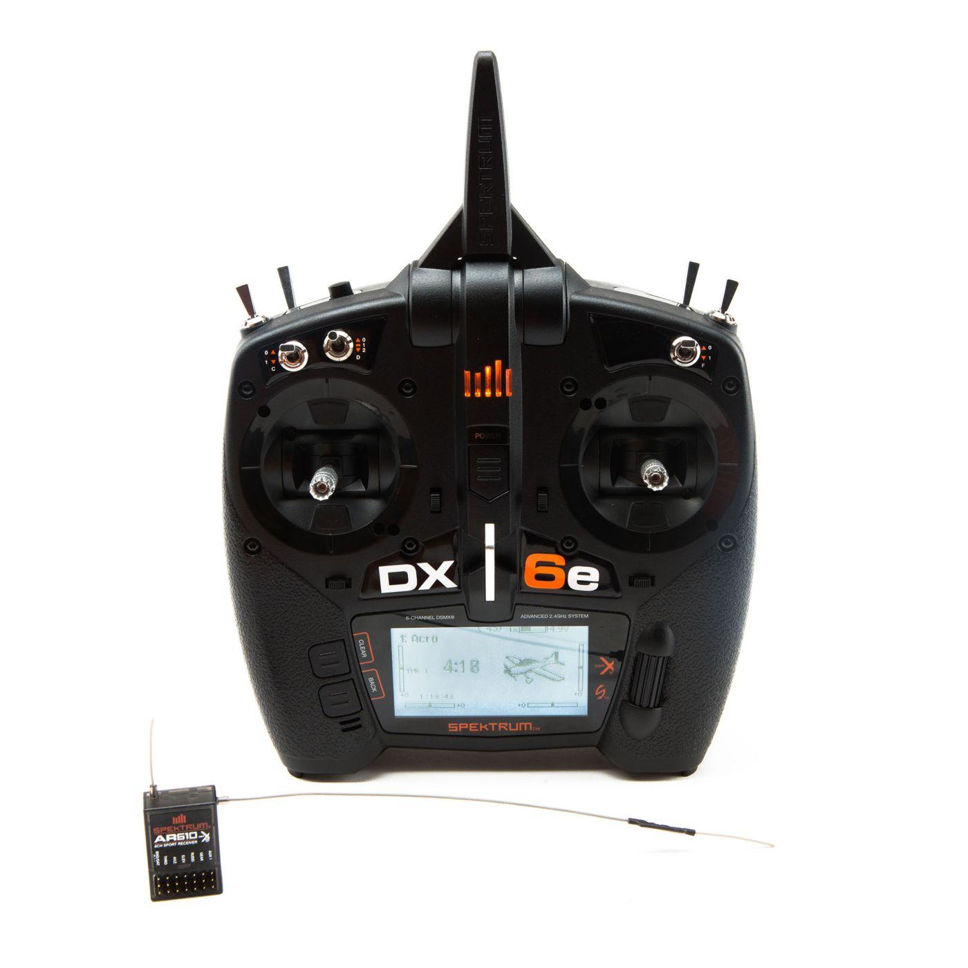 Spektrum SPM6650 - DX6e 6-Channel DSMX Transmitter with AR610