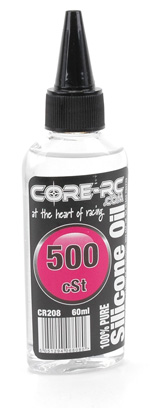 Core CR208 - CORE RC Silicone Oil - 500cSt - 60ml