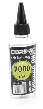 Core CR221 - CORE R/C  Silicone Oil - 7000 cSt - 60ml