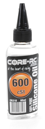 Core CR210 - CORE R/C Silicone Oil - 600 cSt - 60ml