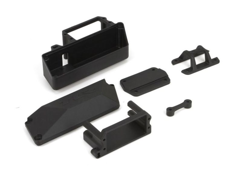TLR 241004 - Servo Mount, Top Brace (8e 3.0)