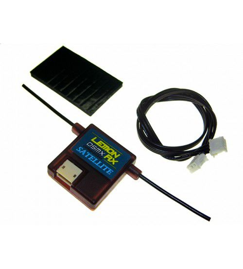 Lemon LM0008 - DSMX Compatible Satellite (DSM2 Backward Compatible But Must Use DSMX Compatible Primary Receiver)