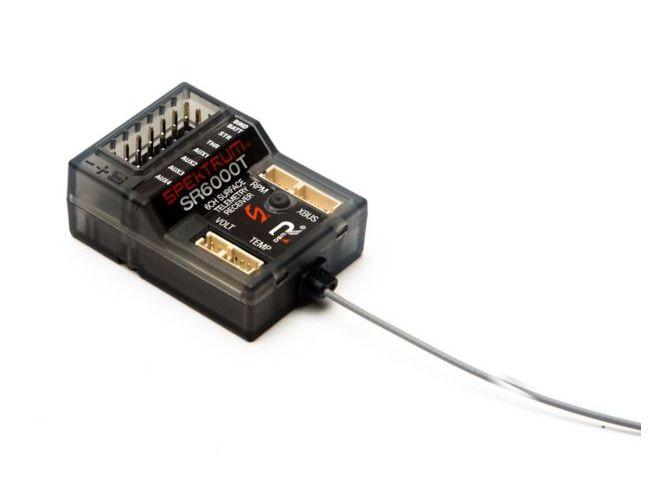 Spektrum SPMSR6000T - SR6000T 6-Channel DSMR Slim Receiver with Telemetry