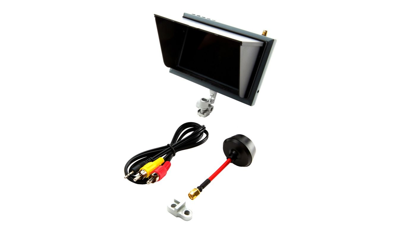 Spektrum SPMVM430 - 4.3 Inch FPV Video Monitor with Sunshade and Mount