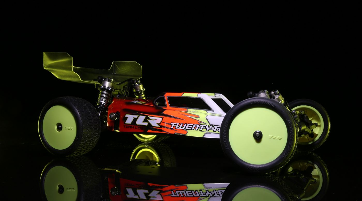 TLR TLR03013 - 1/10 22 4.0 2WD Buggy Race Kit