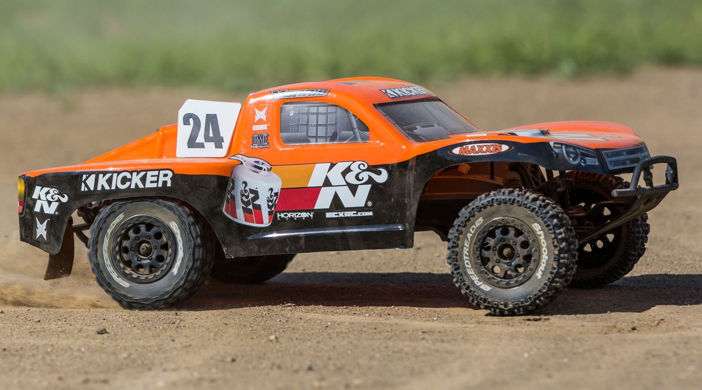 ECX 03354 - 1/10 K&N Torment 2WD SCT, Brushed, LiPo, RTR