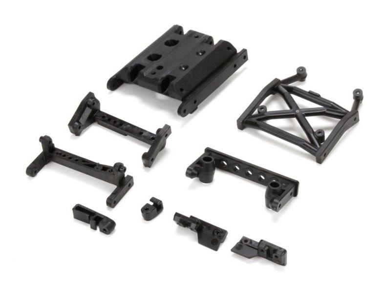 Vaterra VTR231034 - Chassis Brace Set (Ascender)