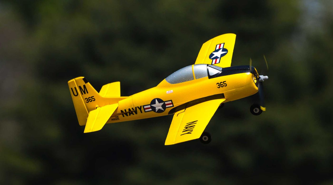 HobbyZone HBZ5650 - T-28 Trojan S BNF Basic with SAFE