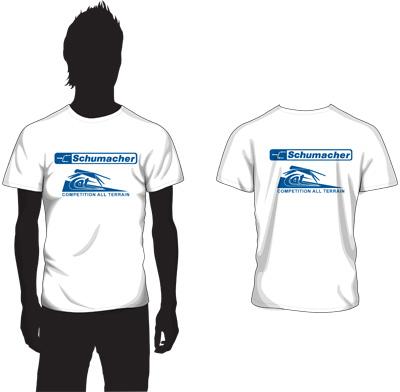 Schumacher G345M - Schumacher Retro T Shirt - Medium