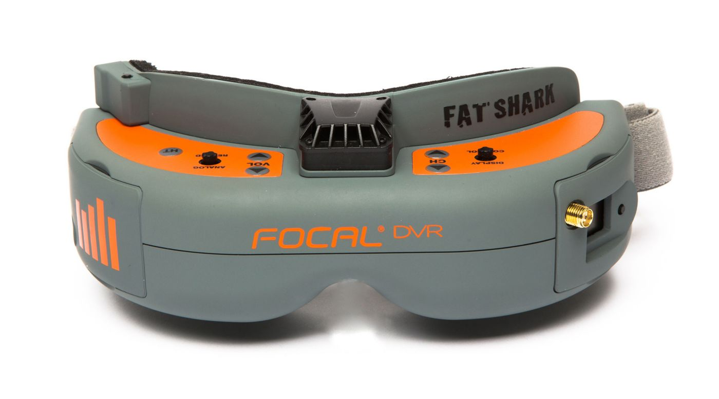 Spektrum SPMVR2520 - Focal DVR FPV Headset