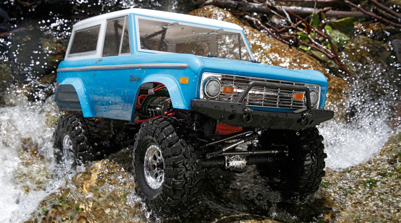 Vaterra VTR03031 - 1/10 1972 Ford Bronco 4x4 Ascender RTR
