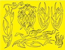Parma 10813 - Inca Design Paint Mask