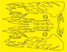 Parma 10814 - Aztec Design Paint Mask