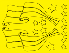 Parma 10815 - Flag Design Paint Mask