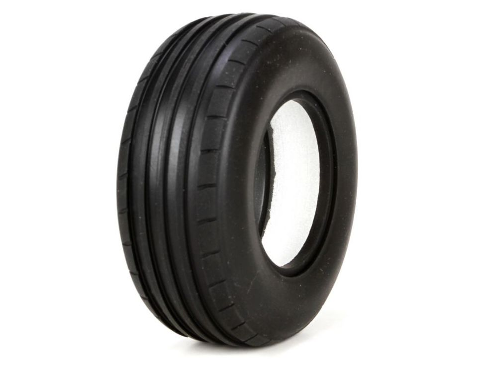 Vaterra VTR44005 - Front Tire, Ribbed with Foam, Soft, 40mm