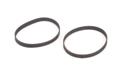 Schumacher U7175 - Rear Belt 72T x 5mm (pr) - CAT XLS