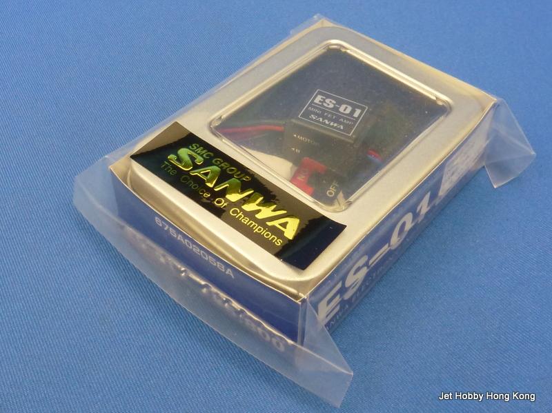 Sanwa ES-01 - Mini FET AMP ESC (1:20, 1:24)