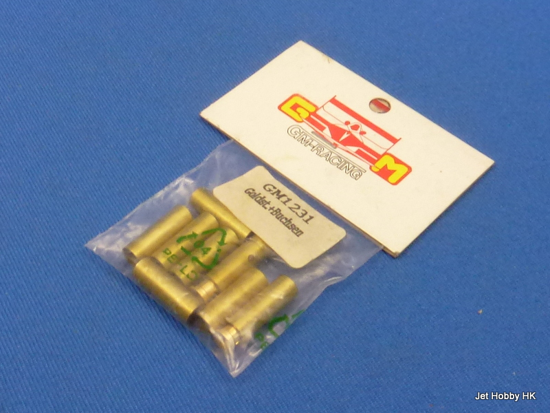 GM Racing GM-1231 - 4mm Banana Connector 2-Male + 8-Female