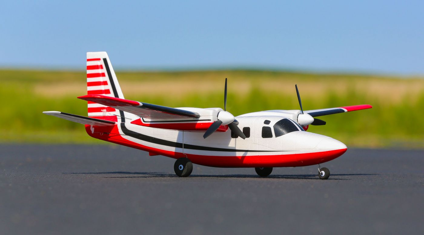 E-flite EFLU5850 - UMX Aero Commander BNF Basic with AS3X