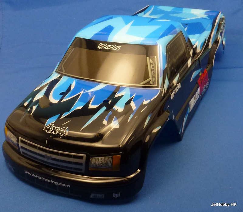 HPI  - Mini GT-1 Truck Painted Body, Blue (Wheely King 4x4)