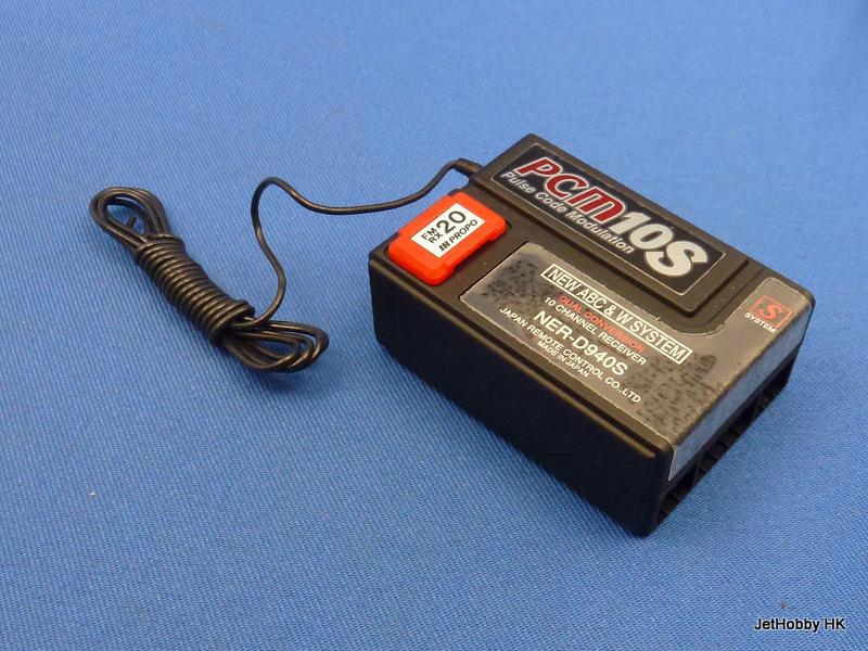 JR NER-D940S-RX20 - PCM 10S 10-Channel Receiver RX20