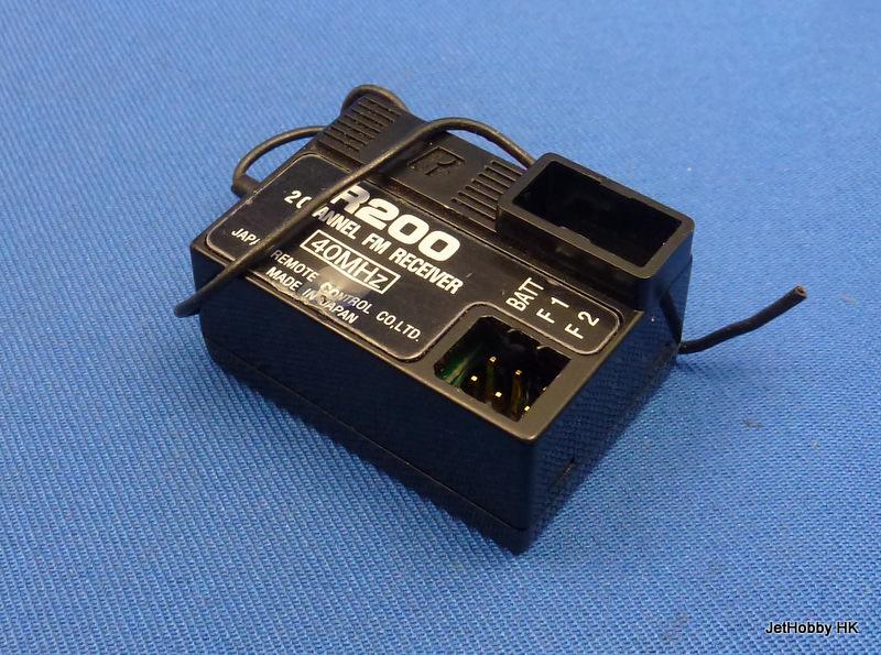 JR R200-FM40 - 2-Channel FM Receiver