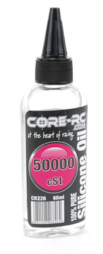 Core CR226 - CORE R/C Silicone Oil - 50000 cSt - 60ml