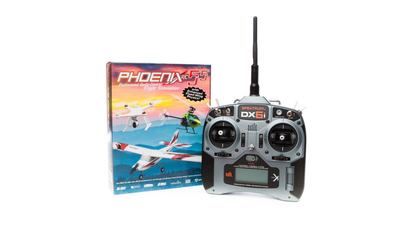 RTM 55R6630 - Phoenix R/C Pro Simulator V5.5 with DX6i Transmitter