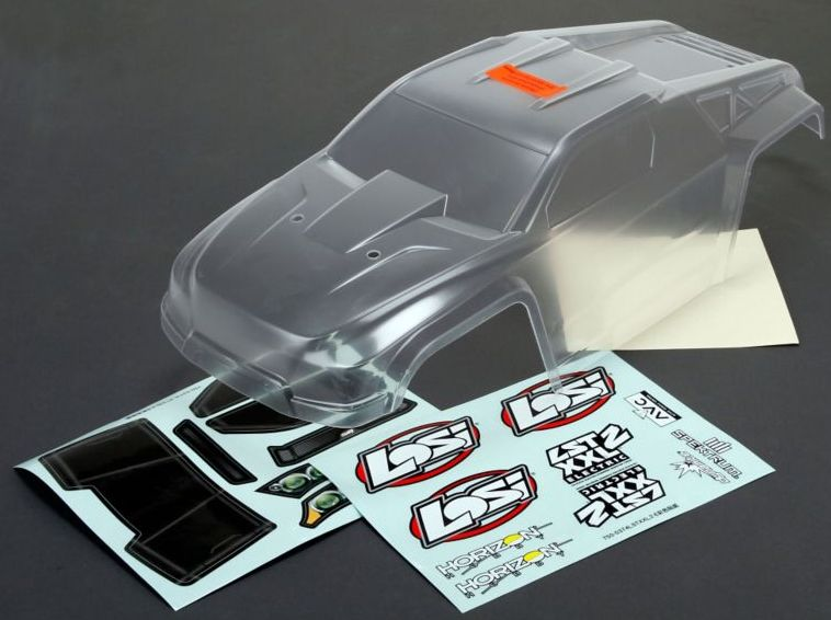 Losi LOS240005 - Body Set, Clear (LST XXL-E)