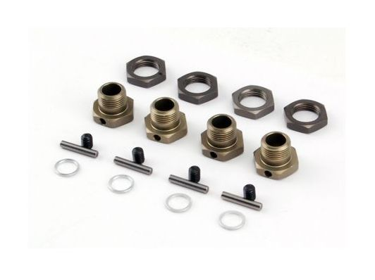 Losi LOSB3516 - 17mm Hex Adapter Set (LST2, MUG, AFT, XXL/2)