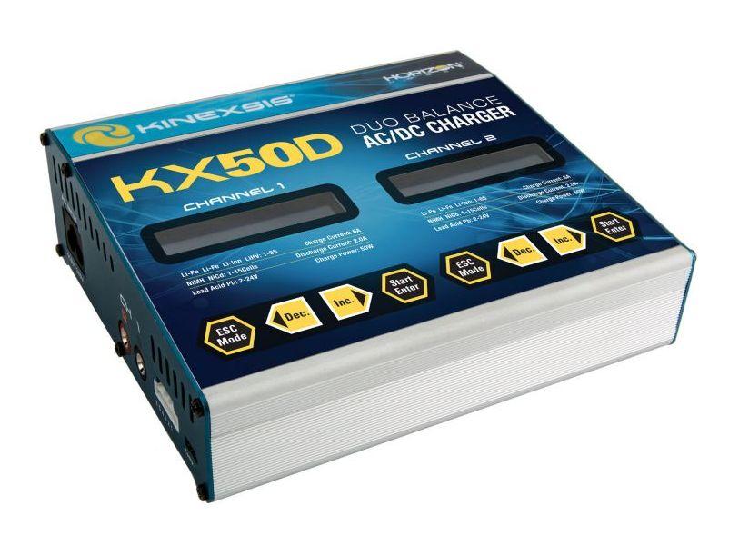 Kinexsis KXSC1004 - KX50D Duo 2 x 50W AC/DC Charger