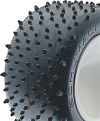 Schumacher U6706 - Mini Spike - Yellow - Truck Tyres (pr)