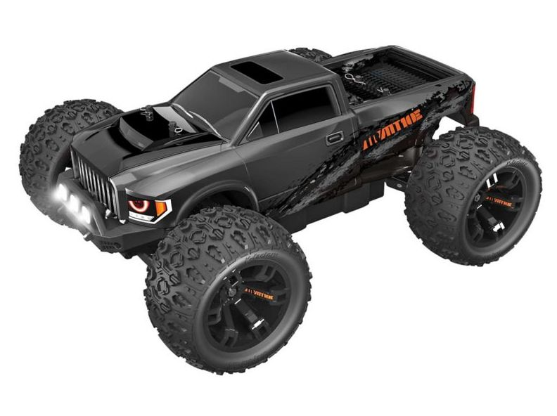 RedCat RER08435 - 1/10 Team RedCat MT10E 4WD Monster Truck Brushless RTR, Gunmetal