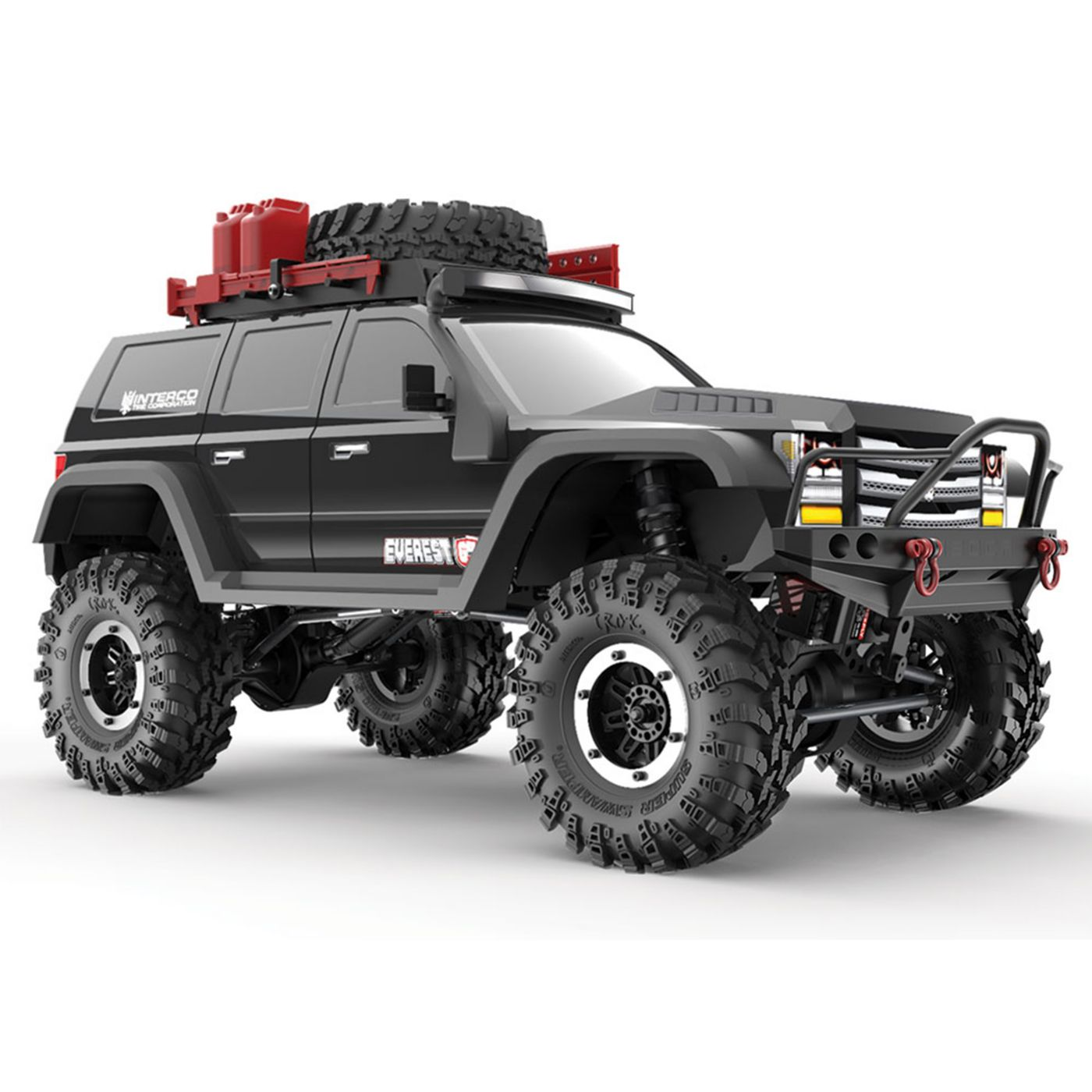 RedCat RER09587 - 1/10 Everest Gen7 Pro 4WD Crawler Brushed RTR, Black