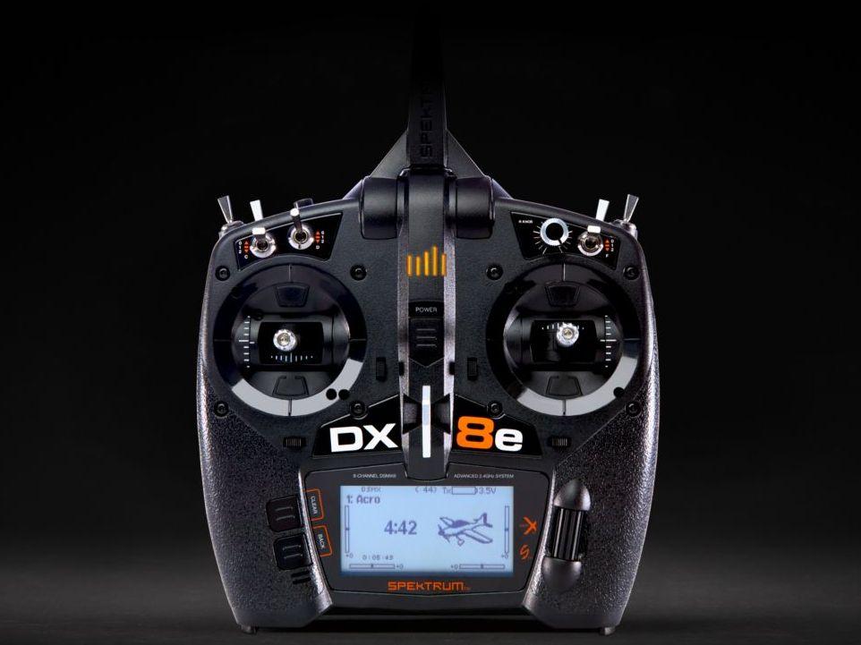Spektrum SPMR8100 - DX8e 8-Channel DSMX Transmitter Only