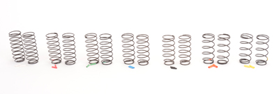 Core CR177 - CORE RC Big Bore Spring Tuning Set; Med 7prs