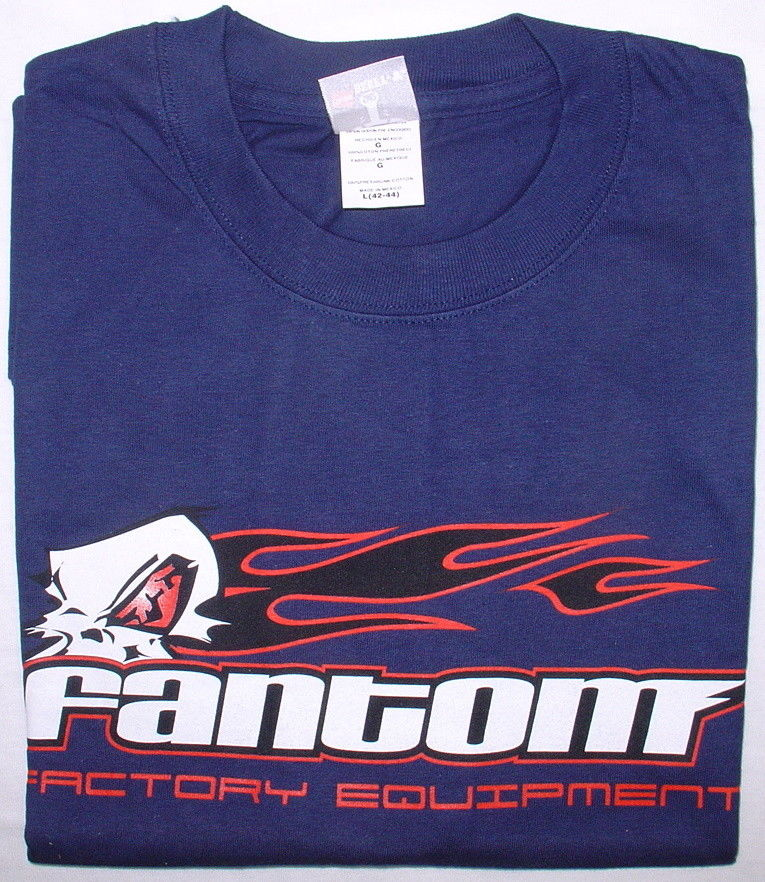 Fantom F394-L - Fantom Motors T-Shirt Blue L-Size 42-44