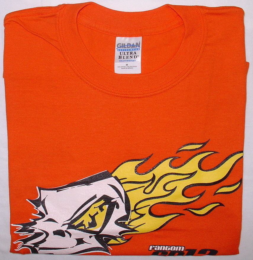 Fantom F392-XL - Fantom Motors Team T-Shirt Orange XL-Size