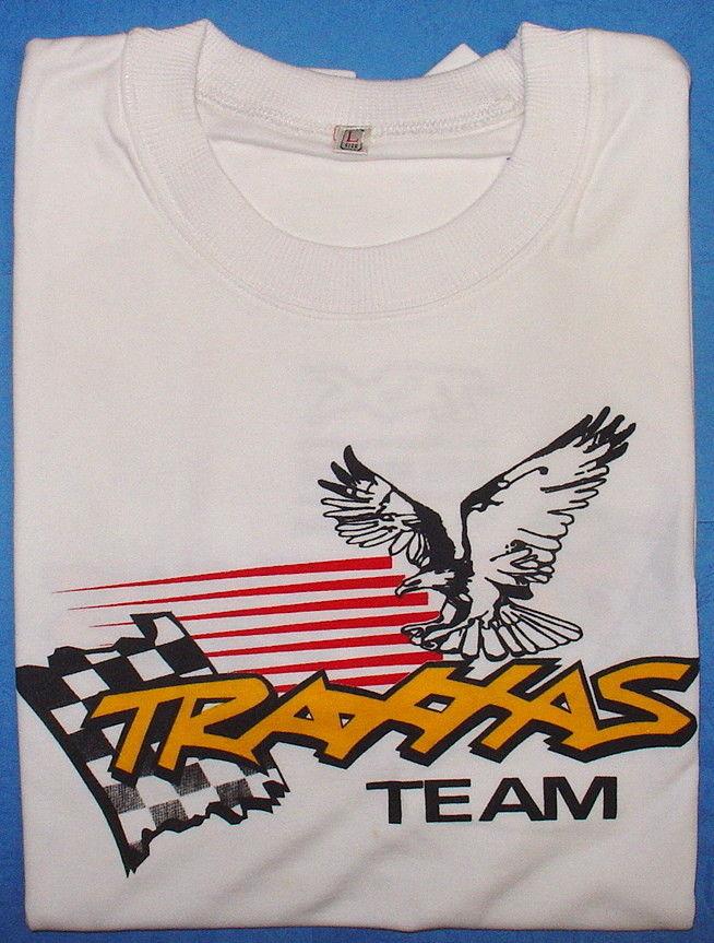 Traxxas 9941 - Traxxas T-Shirt White L-Size