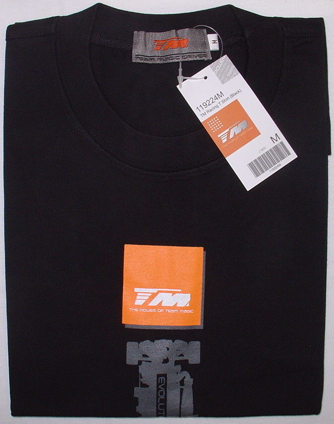 Team Magic 119224M - TM Racing T-Shirt Black M-Size