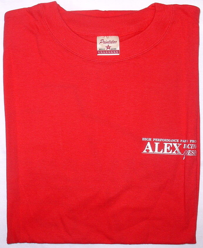 Alex Racing Design B-1010R - Alex Racing Barrcuda T-Shirt Red L-Size